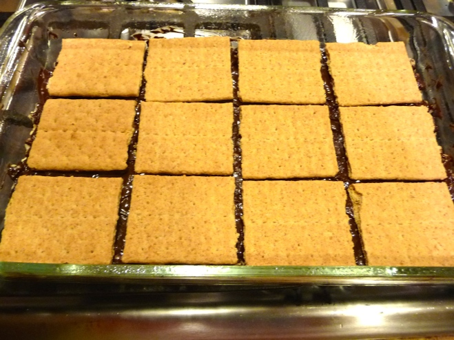 S'mores Rice Krispy Treats - Started From The Batter