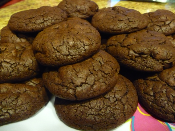 Spicy Chocolate Cookies - STARTED FROM THE BATTER