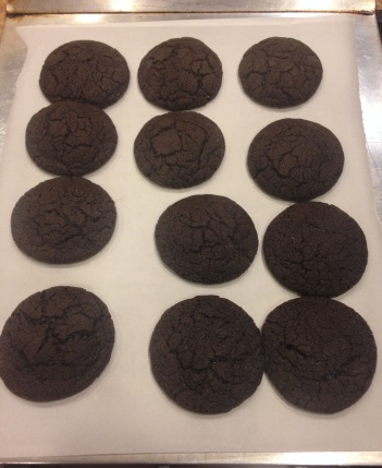 Chocolate Sugar Cookies - Started from the Batter