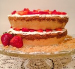 Strawberry Graham Cracker Layer Cake - Started From The Batter
